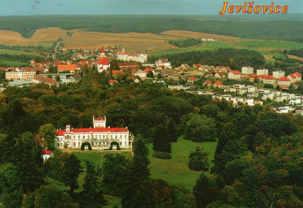 Postcard of Jevišovice