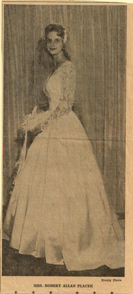 Kathy Wedding Picture
