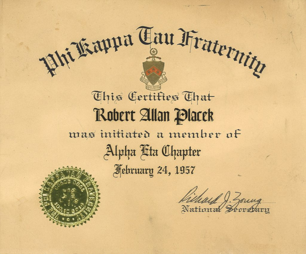fraternitycertificate