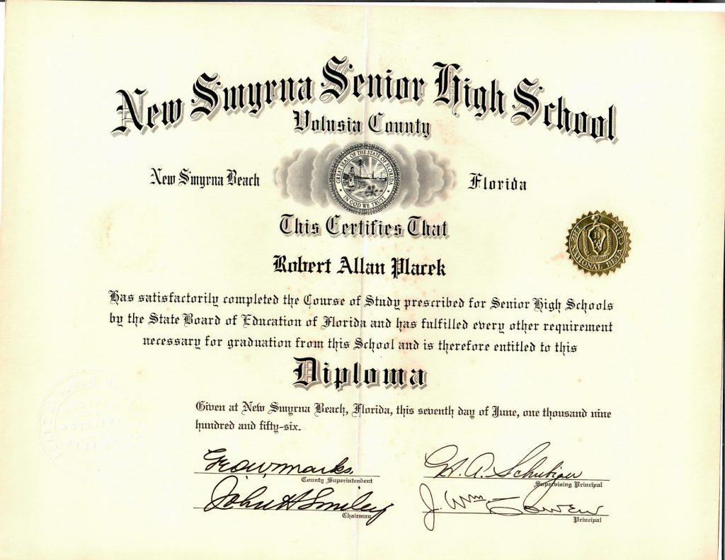 bob diploma