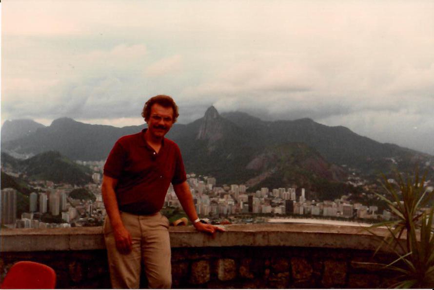 Dad in Brazil - Rio (80s)